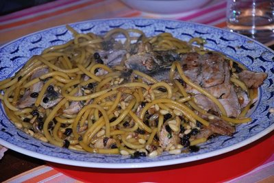 PASTA CON LE SARDE (Pasta with sardines, from Palermo, made with ...
